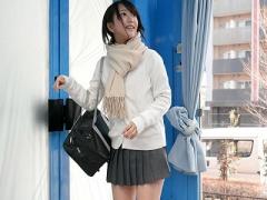 マジックミラー号 美少女で可愛い巨乳JK 激カワ女子校生とハメ撮りセック...