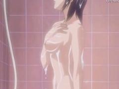 エロアニメ ちょい昔のエロアニメがシコれる件 シャワーシーンで微乳なコ...