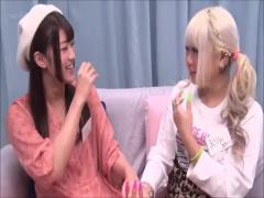 二人組美少女がマジックミラー号で騙されてハメハメ4P