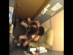 セックス盗撮 ネカフェをラブホ代わりに使ってたら盗撮されてネットに流さ...