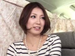 ワンピースの素人妻 32歳 に夫婦の営みを赤裸々にインタビュー!