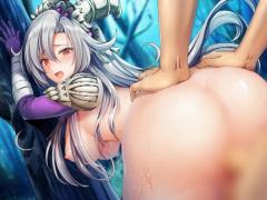 神姫! 巨乳娘をバックでガン突きして中出しセックスwwwwww