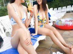 プールで巨乳美女をナンパ! ガード固い水着ギャルだけど、この後めちゃく...