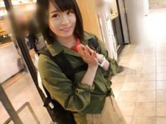 渋谷でナンパした広瀬○ず似の童顔美少女 ねね ちゃん19歳