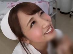ピンサロ風?入院患者の溜めすぎた精子をお口で絞りとってごっくんしてくれ...