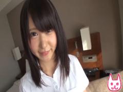 素人 アイドル級に可愛い黒髪清楚女子大生と就活面接帰りにホテルでハメ撮り!