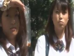 痴漢 部活帰りの制服女子校生がバスで手マンで絶頂フェラ中出し顔射ぶっか...