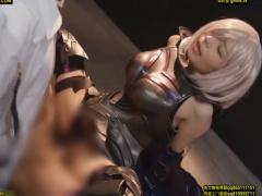 アニコス衣装を着た美少女ヒロインが巨根男と生ハメ中出しセックス!