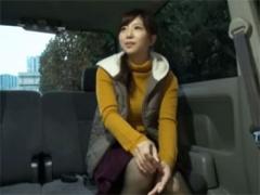 怜唯奈 28歳 真面目で清純そうな専業主婦を車内に連れ込みAV出演交渉