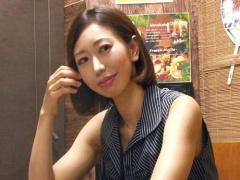 熟女ナンパ 相席居酒屋で出会った三十路 33歳 の美人妻を部屋に連れ込み中...