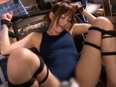 緊縛令嬢スペシャル調教女子校生 緊縛拘束されて電マ責め調教されるJK