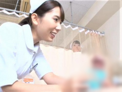 デカチン患者を羨ましく眺める看護婦がチ〇ポに夢中! そして担当になった...