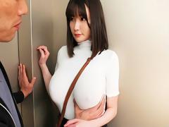 筧ジュンJカップ爆乳の超絶カワイイお姉さんがニット着衣おっぱいで男を誘...