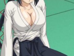 剣道の達人で巨乳な女子生徒との性体験! こんなにおっぱい大きかったら邪...