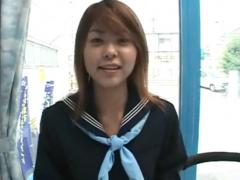 マジックミラー号 MM号に伝説のAV女優の長瀬愛! JK制服コスプレ衣装を着て...