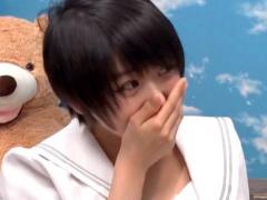 10代女子の悩みを聞くフリで。。 き…キモチイイ *ノωノ 初めての健康器具 ...