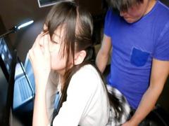 女子校生 スレンダーで可愛い制服美人JK 美女の女子校生がフェラとハメ撮...