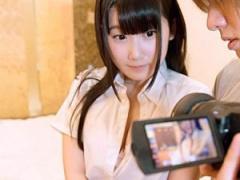 パイパン制服美少女とラブホテルでハメ撮り 艶々の白肌にたっぷり射精!