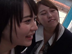 マジックミラー号 美人女子校生の可愛い美少女JKとMM号 美女女子校生が騎...