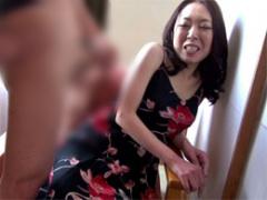 レイコ 35歳 三十路熟女が恥らうセンズリ鑑賞