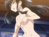 エロアニメ ふたなり爆乳美少女女戦士が双子の巨乳美少女に犯される