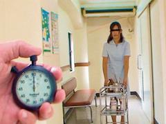 時間停止 IN 病院 時間を止めて完全静止した看護婦さんたちを弄りまくりベ...