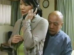 ヘンリー塚本  義父との情事を見られて、息子と口止めSEXする爆乳熟母!