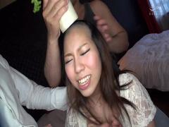 ※衝撃映像につき観覧注意※ 女の命である髪の毛を無残にも反り落とし中出し...