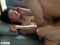 夫の性癖でレイプごっこをしながらセックスする日々 しかしある日本当に強...