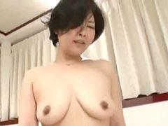 五十路 年下の青年と生ハメ本気セックスをする完熟主婦 安西淳美