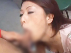 熟女ナンパ 団地妻のお宅に突撃してフェラ抜き顔射ぶっかけ! ねっとりノー...