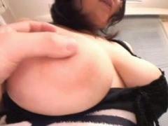 おっとりぽっちゃりなデブカワ娘のたわわな爆乳でパイズリ中出しセックス!