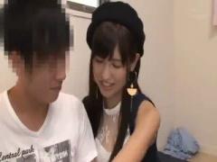 アイドル級の激かわ美女 AV女優がファン宅訪問して彼女になりきって素人男...
