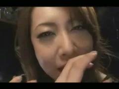 デカチンフェラ動画 熟女のフェラテク 美熟女に口内射精 巨根連続射精