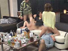 ガチ素人看護婦とヤリコン乱交した一部始終のハメ撮り流出