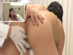 SOD女子社員が男子社員のいるフロアで丸裸の公開健康診断!