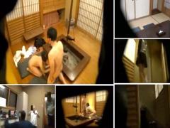 寝取らせ盗撮 妻の淫らな姿を見たくて大量の隠しカメラを設置!