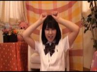 乃木○46にいそうな美少女の指でガチオナニー! アイドルのオナニー見てる感...