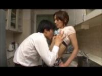 ヘンリー塚本 嫁が留守の間にキッチンで仕事する家政婦にちんこを挿入する...