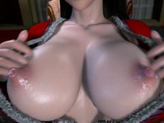 3Dエロアニメ ワンピースの女帝ボア ハンコックが巨根フェラチオで性的サ...