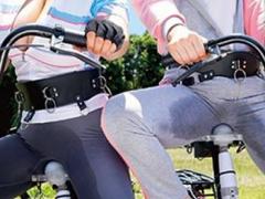 ハイパー電マサドル自転車で潮溜めチャレンジ ボウル満杯に潮吹きできれば...
