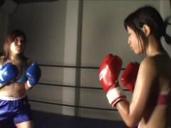 キャットファイト 女子ボクシングNEO! 巨乳ファイターと美女ファイターの...
