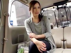 人妻ナンパ 買い物帰りの美人奥さまを車中にゲット 欲求不満が溜まり溜ま...