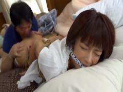 レイプ 女優の紗倉まなちゃんが吉村卓に襲われる! 体を縛られてベロベロと...