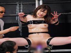 女スパイ快楽拷問 犯罪組織に囚われ四肢固定 動けない肉穴と性感帯を穿り...