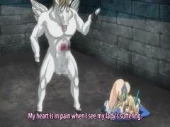 エロアニメ デカパイ美少女が敵のペガサス怪物に犯されアヘアへ
