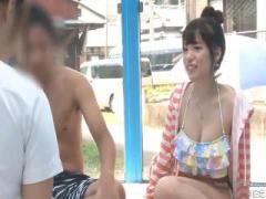 マジックミラー号 MM号 湘南で捕まえた可愛い水着美女に性感マッサージを...