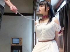 奴隷 ドMな美少女が拘束されSM調教で何度も絶頂! 潮吹きま○こを玩具でしつ...