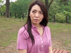 四十路熟女ナンパ みちのく美人妻! 宮城の松島で出会ったスタイル抜群の巨...