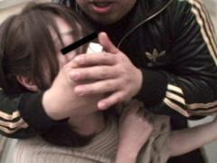 とある鬼畜男の犯行映像、団地妻をエレベーター内でク〇ロホルムを使い昏...